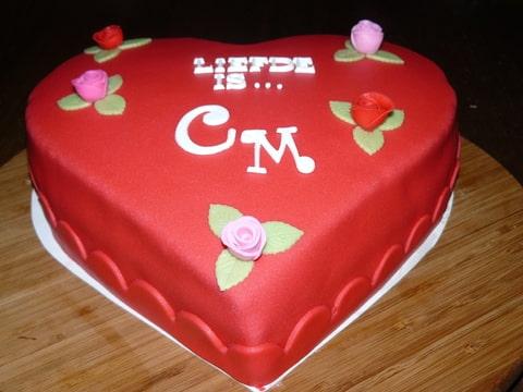 Wonderbaar Vandaag zijn we 2 jaar getrouwd......dus taart!! (Pagina 1 VC-77