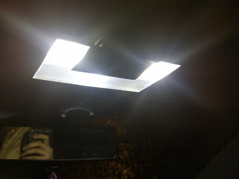 T10 interieur verlichting golf 5 for Interieur verlichting