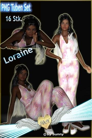 (16 Stück) Render Set Loraine