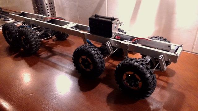 build - MAN KAT 1 8X8 scratch build with tlt axles Foto-MYCEHMKQ-D