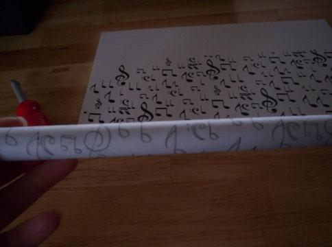 How to zelf gemaakt textuurrollertje pagina 4 for Carbon papier