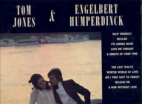 Tom Jones Engelbert Humperdinck 25 Vinyl Records Amp Cds