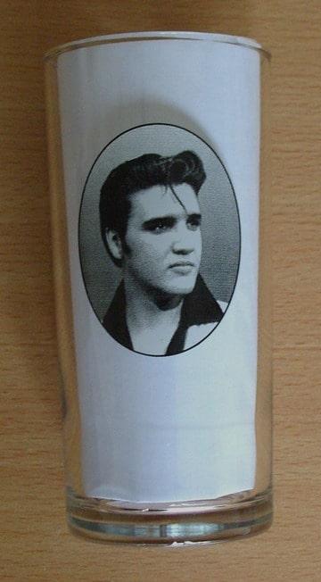 Elvis Presley Glas