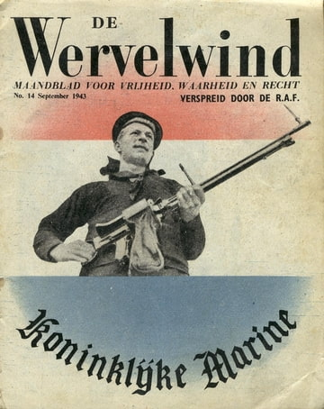 De Wervelwind nummer 14 uit de tweede wereldoorlog afgeworpen September 1943