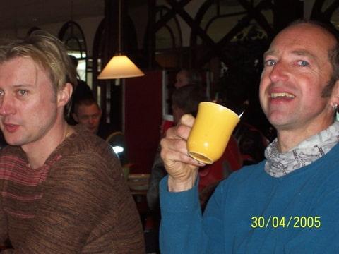 Jan aan de koffie