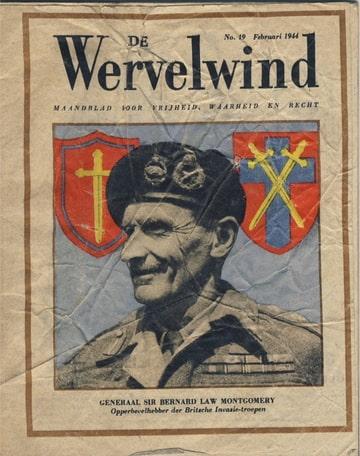 Wervelwind nummer 19 uit de tweede wereldoorlog wo2 ww2 Montgomery Indonesie