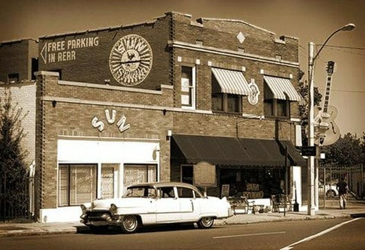Sun Records in: Beale Street in: Memphis, Tennessee