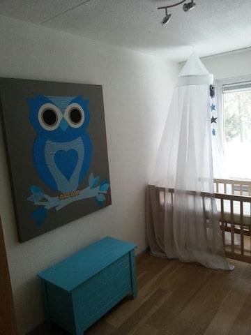 Schilderij babykamer zelf maken for - Babykamer schilderij idee ...