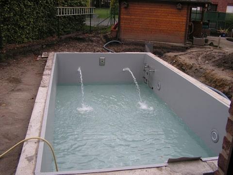 Mijn zwembad met foto 39 s zwembad forum - Zwembad kleur liner ...