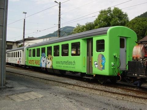 spoor Aftrekken op een panorama view
