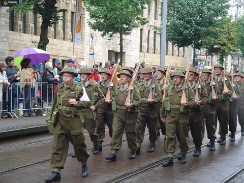 Veteranendag Den Haag dads army