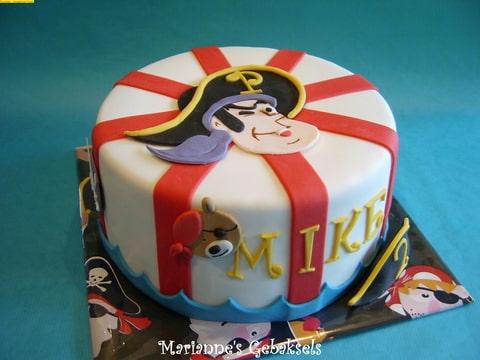 piet piraat taart decoratie