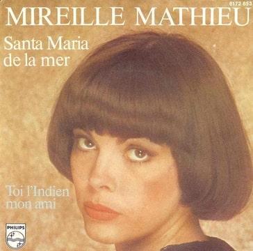 Mireille <b>Mathieu Santa Maria</b> / Toi l&#39;indien mon ami - Foto-HKWYA7QA