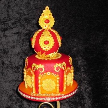 bollywood taart Bruidstaart in Bollywood stijl. (Pagina 1)   Bruids  en  bollywood taart