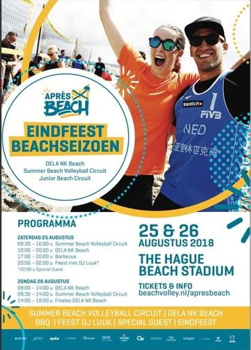 poster beachtoernooi