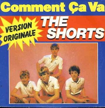 THE SHORTS - Comment ca va / springtime - 45T (SP 2 titres)