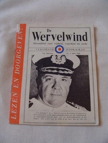 De Wervelwind uit de tweede wereldoorlog pamflet wo2 verzameling