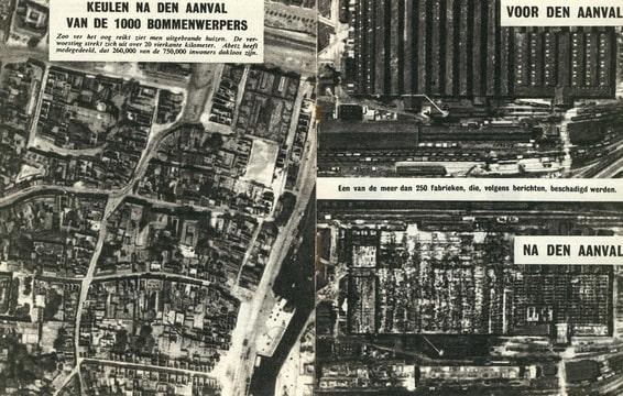 De Wervelwind 3 uit de tweede wereldoorlog wo2 Keulen