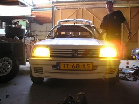 Peugeot 205 Rallye | Klik voor details