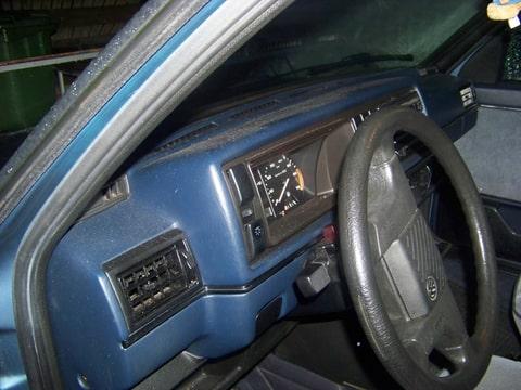 Golf 2 5drs blauw interieur for Interieur golf 2