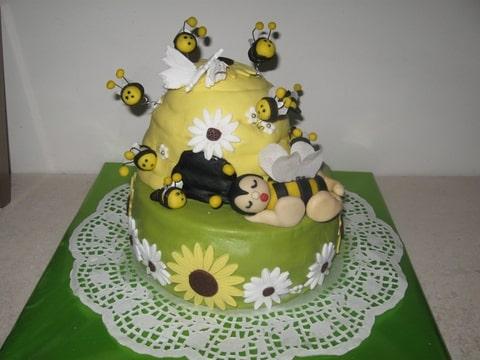 Bijenkorf Taart