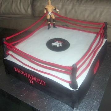 wwe taart WWE taart (Pagina 1)   3D taarten   DeLeuksteTaarten.nl Forum wwe taart