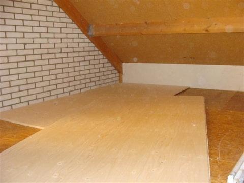 Goedkoopste Houten Vloeren : Houten poorten: multiplex vloer leggen