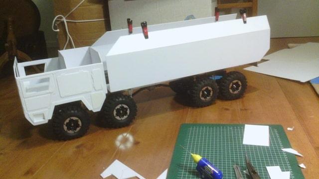 build - MAN KAT 1 8X8 scratch build with tlt axles Foto-YIOMLAQX-D