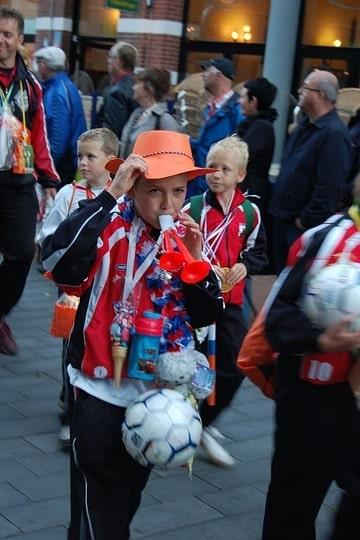 Avond4daagse VVHeiligerlee 2010