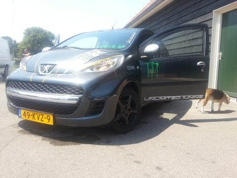 Peugeot Tuning Club • Bekijk onderwerp - Grisracemonster Stelt zich ...
