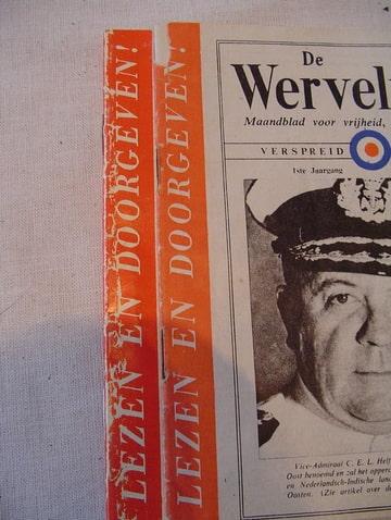 De Wervelwind nummer 1 uit de tweede wereldoorlog ww2 wo2 lezen en doorgeven