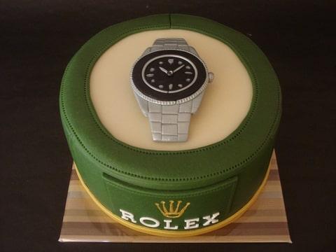 horloge taart rolex horloge (Pagina 1)   Decoreren   DeLeuksteTaarten.nl Forum horloge taart