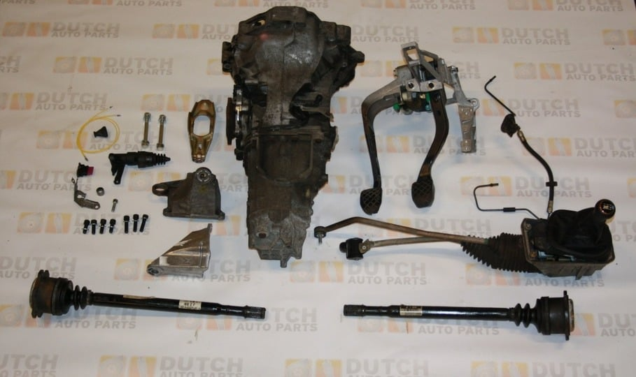 Dutch Auto Parts, gearbox sets, engines, turbos, injection