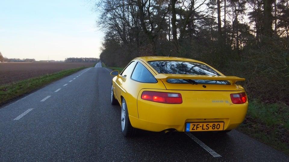 Porsche 928 Stoelen.Www Porscheforum Nl Toon Onderwerp Porsche 928 S4 Speedgelb