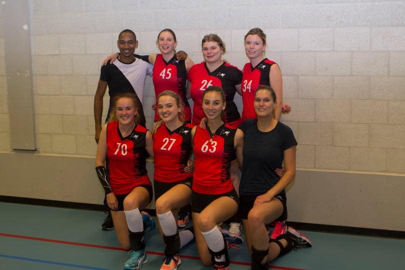 teamfoto Dames 8