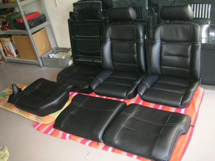 Renoveren herstellen vol leder interieur 205 griffe for Leder auto interieur