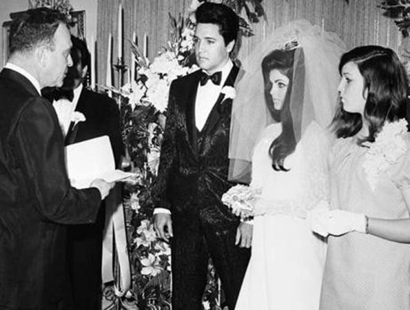 Bruiloft Elvis & Priscilla