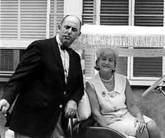 Colonel Tom Parker & Marie Francis Mott