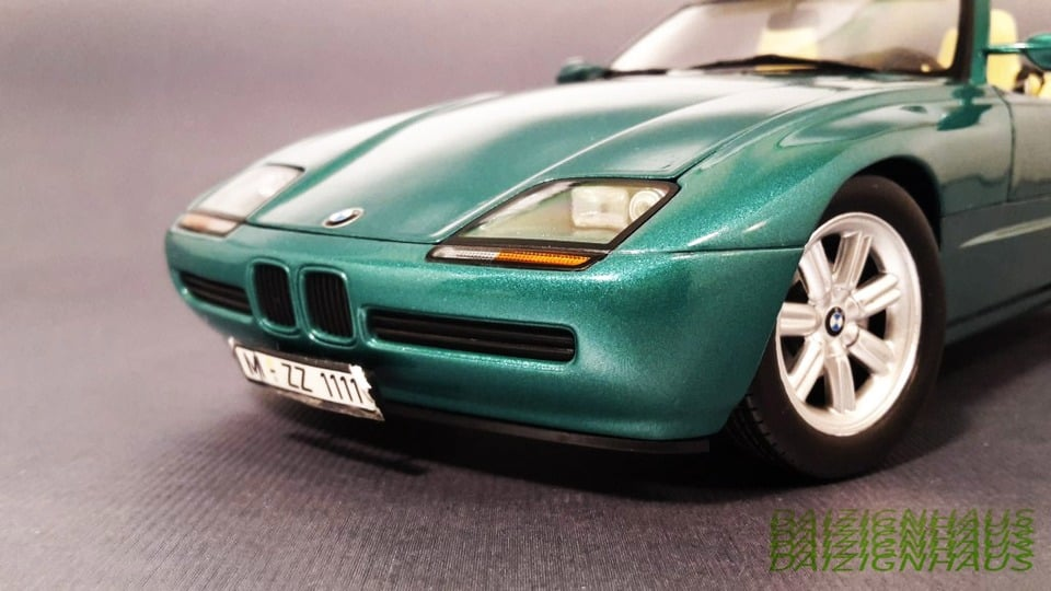 1 18 bmw z1 dealer edition by pma minichamps dx classic vintage die. Black Bedroom Furniture Sets. Home Design Ideas
