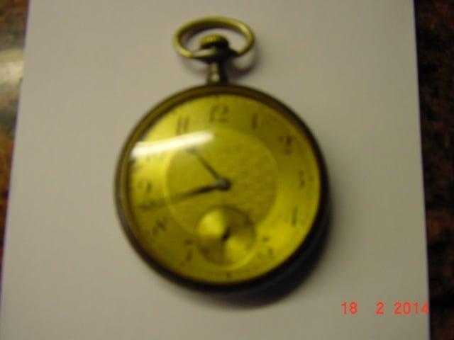 Voorzijde van het horloge