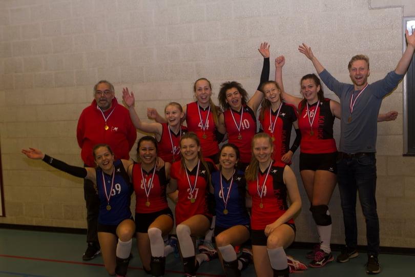 Meisjes A1 kampioen
