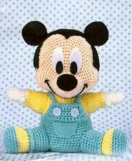 Patron Mickey Mouse Amigurumi Gratis : [CENTRAAL]Amigurumi (Haken) #3 Bokt.nl