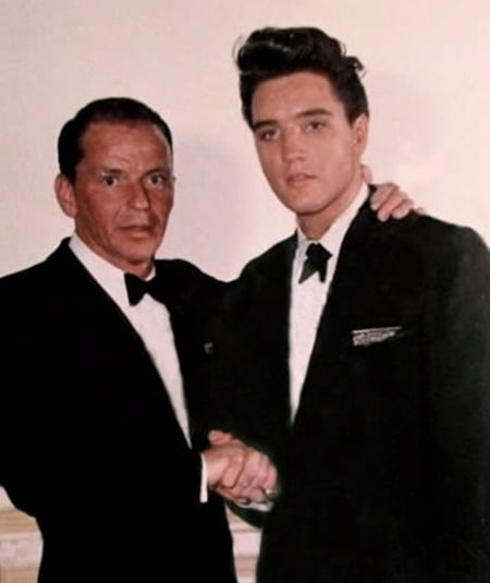 Elvis Presley & Frank Sinatra