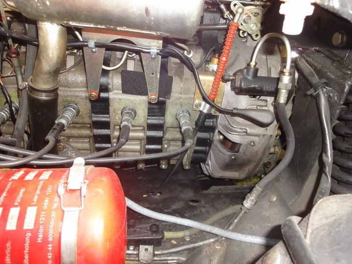 Mercedes C111 Wankelmotor
