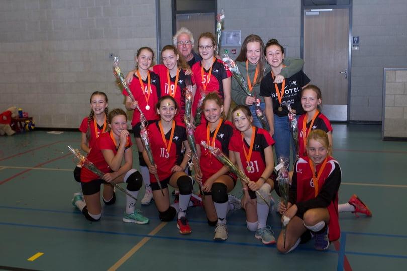 Meisjes C3 herfstkampioen