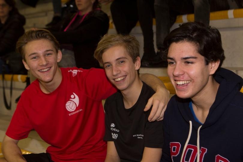 Kalinko 3 Boris, Max en Thomas bij het Be Better toetstoernooi