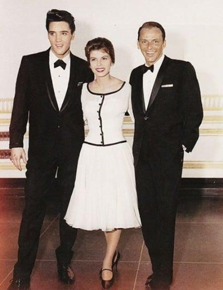 Elvis Presley, Nancy Sinatra & Frank Sinatra