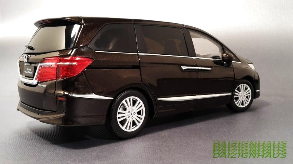 2017 Honda Elysion (Brown Metallic) Dealer Edition...By ...