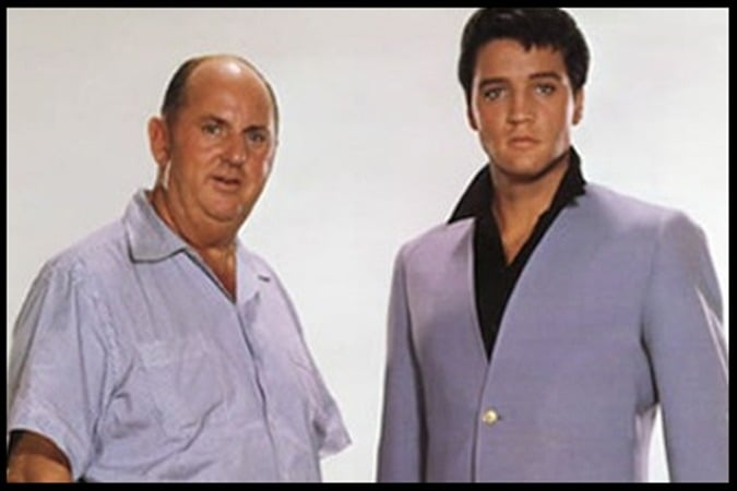 Colonel Tom Parker & Elvis Presley