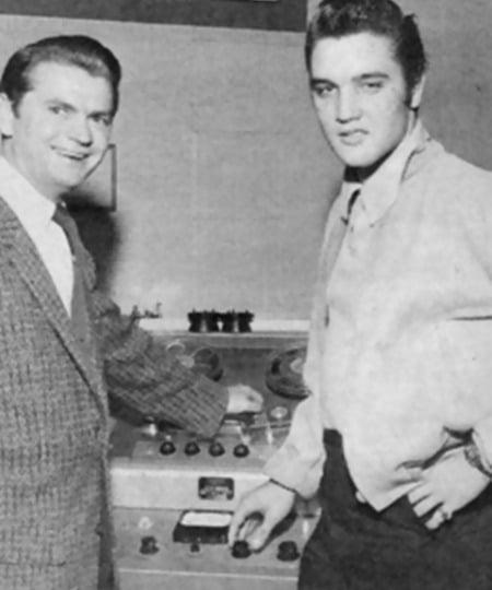 Sam Phillips & Elvis Presley
